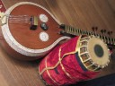 Veenai and Mridangam