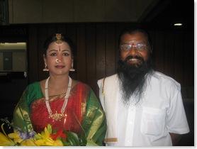 Rajeshwari Sainath and Guru K Mani Iyer