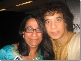 Zakhir Hussain with Sumi Krishnan